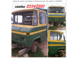 Cabine camion mercedes 508